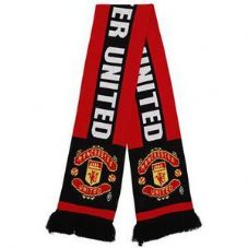 OF106 ADULT MANCHESTER UNITED FC SCARF